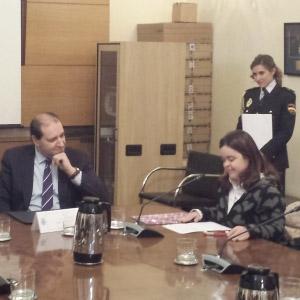 DOWN ESPANYA i el Cos Nacional de Policia fomentaran la participació ciutadana de les persones amb síndrome de Down