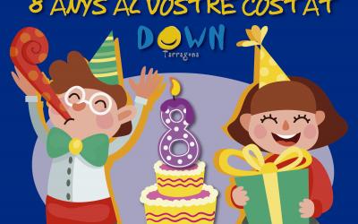 Octavo aniversario de Down Tarragona