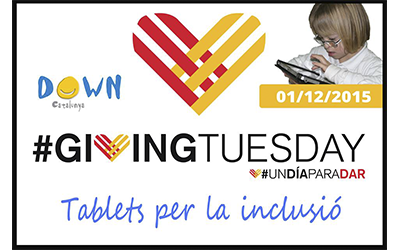"Giving Tuesday, ""tablets per la inclusió"""