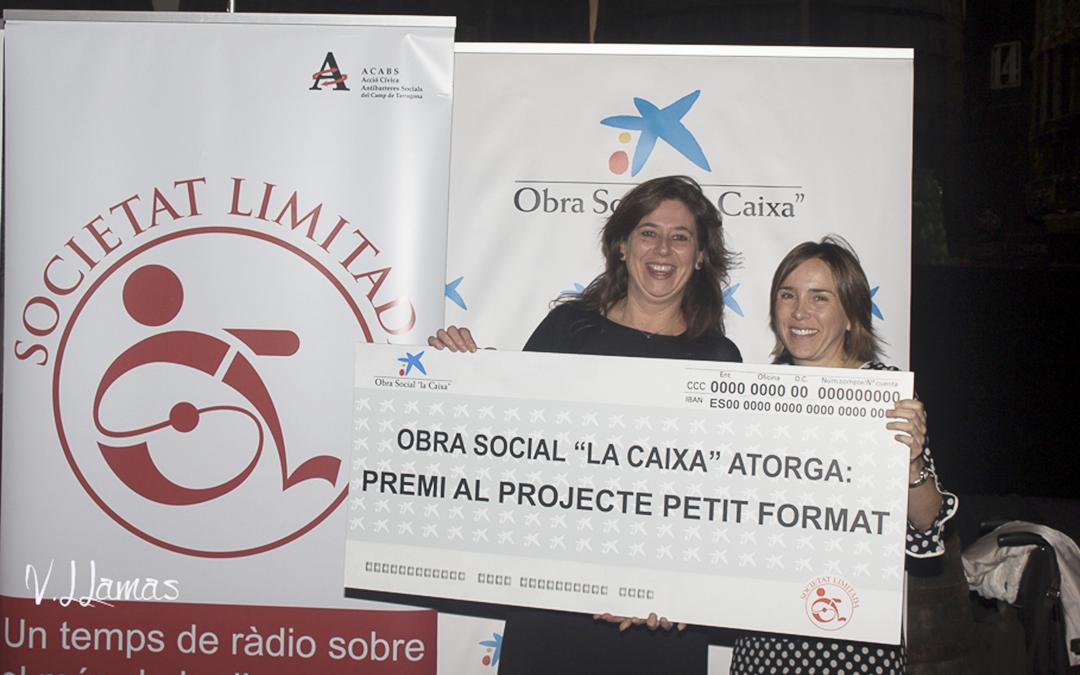 """La Caixa premia a Down Tarragona pel projecte """"Ens posem en xarxa"""""""