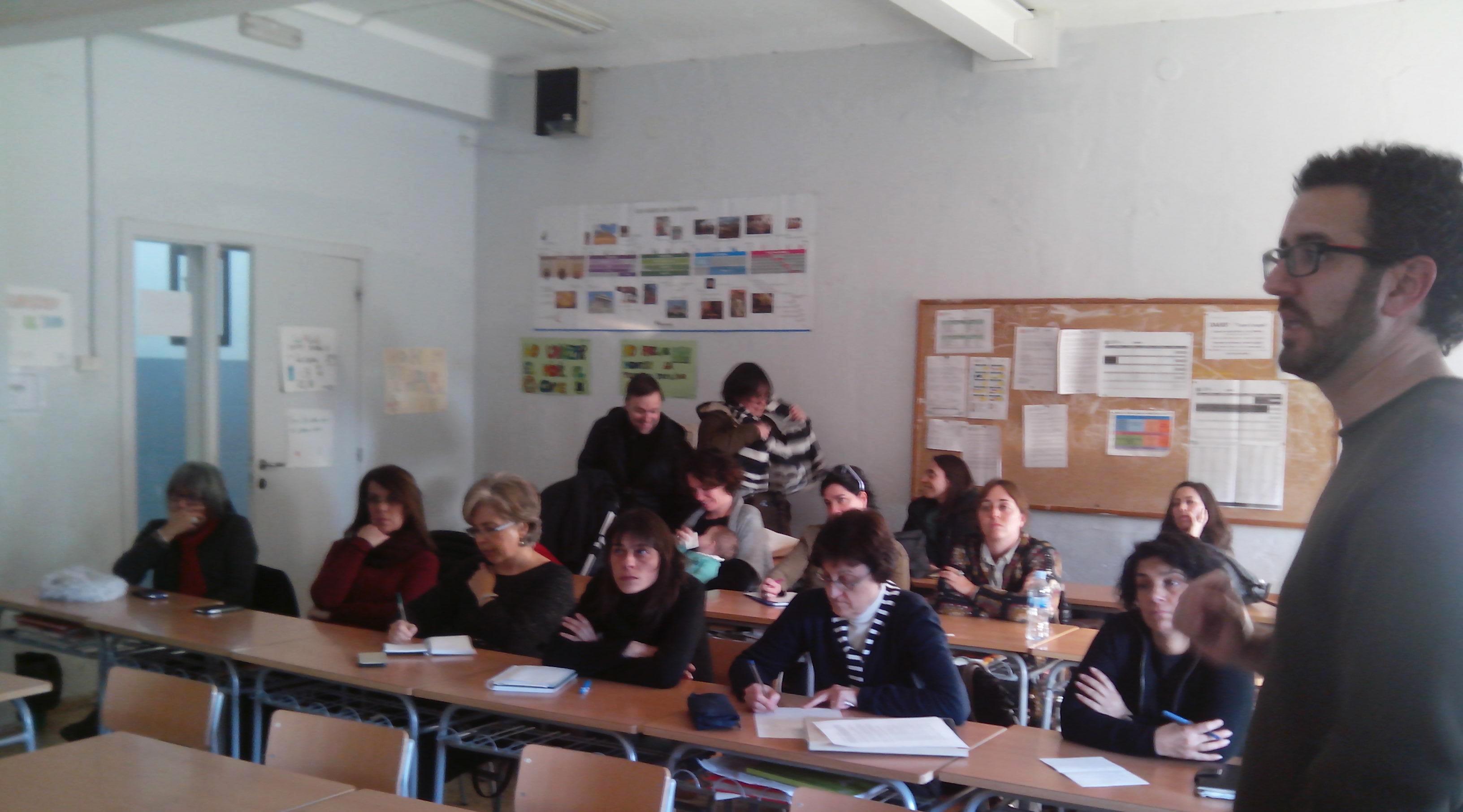 Xerrada formativa a l'institut Martí Franqués de Tarragona