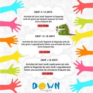 Activitats 21 d'abril