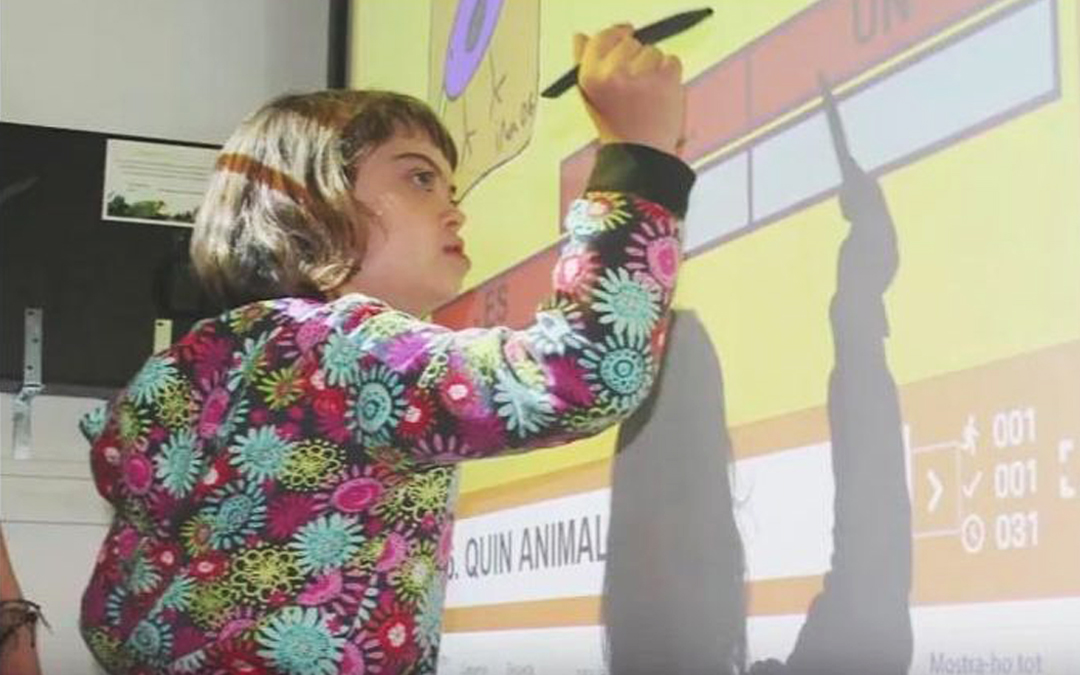 Nova aplicació per ensenyar a llegir als nens amb síndrome de Down