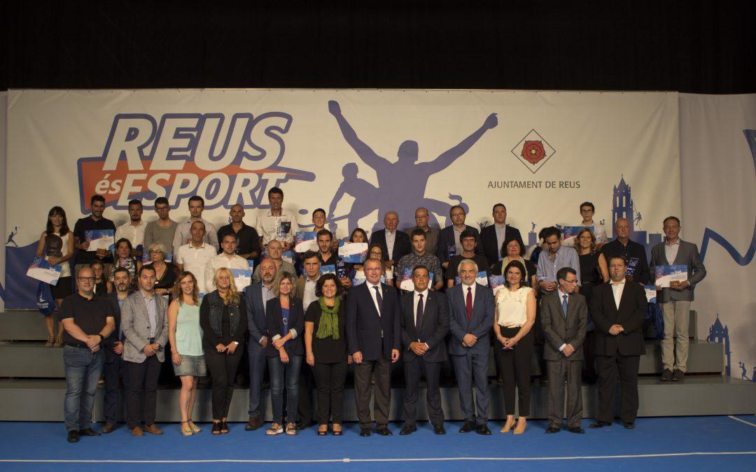 Dos de nuestros usuarios premiados en la Fiesta del Deporte de Reus