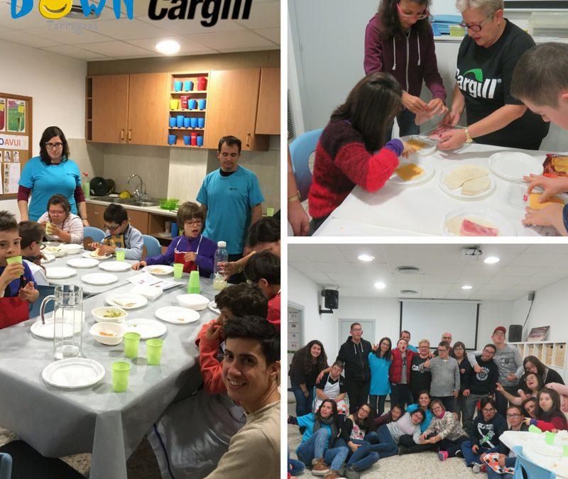Taller de cuina amb empresa Cargill