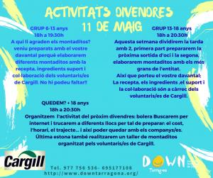 ACTIVITATS 11  DE MAIG