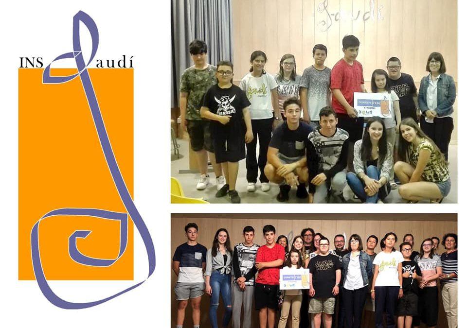 La iniciativa de alumnos del SIEI y del Aula abierta del instituto Gaudí de Reus