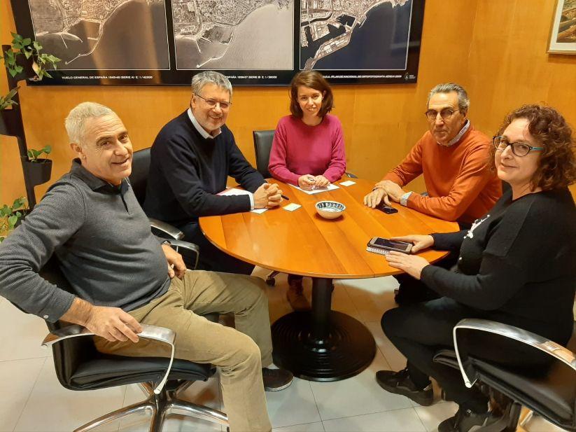 VISITA INSTITUCIONAL DE L'ASSOCIACIÓ DOWN TARRAGONA AMB L'ALCALDE RICOMÀ