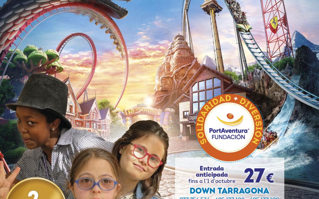 Vine a PortAventura Park amb Down Tarragona