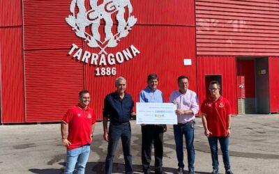 La Pobla entrega 2.370 euros a Down Tarragona