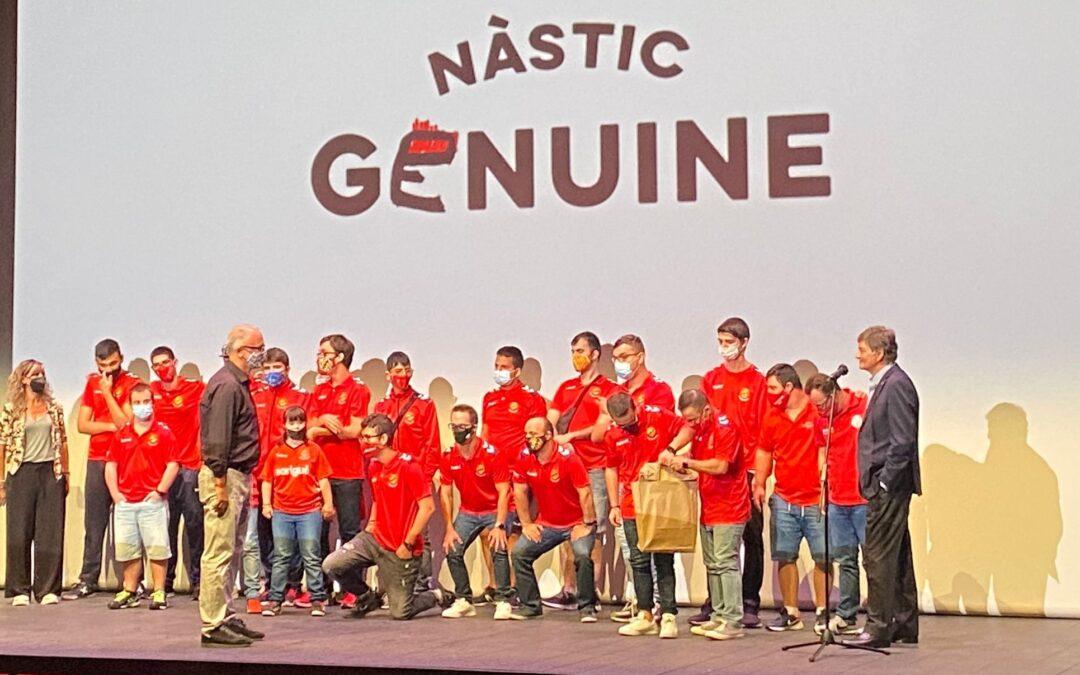 Se estrena en el Teatre Tarragona el documental 'Nàstic Genuine. El nacimiento de una realidad'